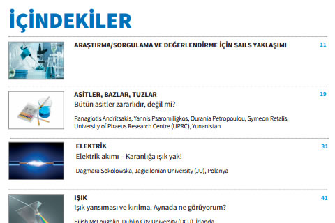 Inquiry & assessment units books translated to Turkish