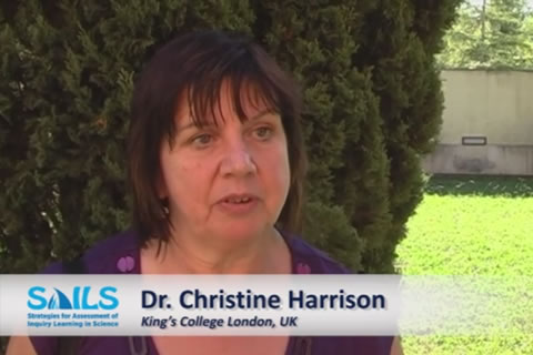 Interview Dr. Christine Harrison - challenge of implementing a new assessment strategy in IBSE