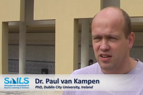 Interview Dr. Paul van Kampen - challenge of implementing a new assessment strategy in IBSE
